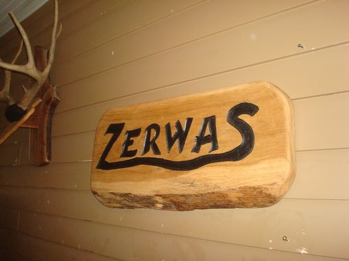 Custom Made Custom Engraved Sign