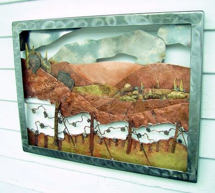 Custom Made Metal Landscape Models And Diaramas