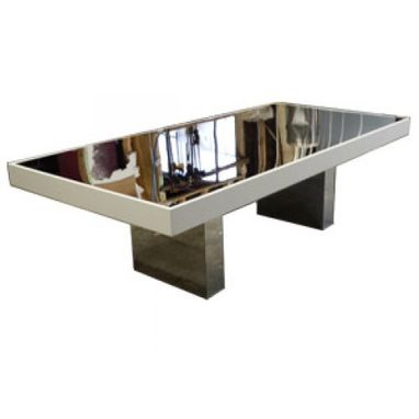 Custom Made Mirror Fusion Table