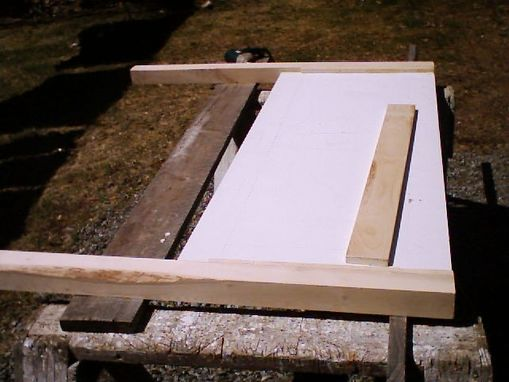 Custom Made Headboard Construction