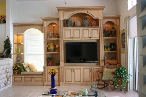 Custom Made Wall Unit 2