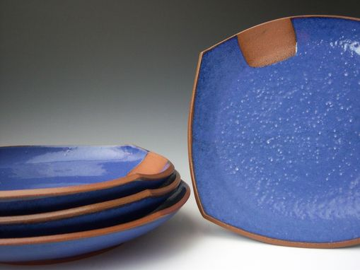Custom Made Blue Dinnerware