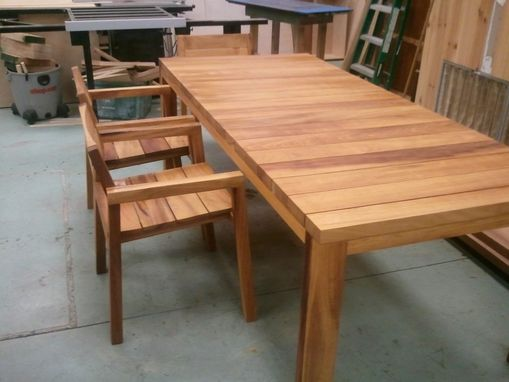 Custom Made Teak Outdoor Set