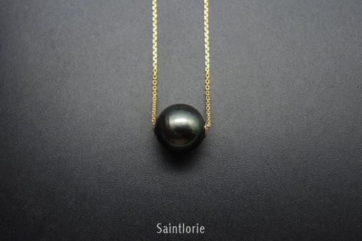 Custom Made 10.5mm Tahitian Pearl Necklace