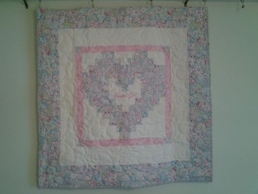 Custom Made Heart Quilt