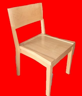 Custom Made Beech Wood Hardwood Chairs