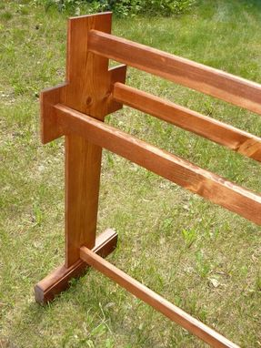 Custom Made Cross Quilt Rack