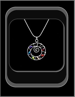Custom Made Chakra Healing Necklace!