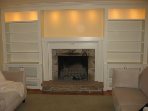 Custom Made Builtin With Mantle