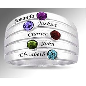 Custom Made Mothers Rings