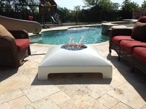Custom Made Domed Concrete Fire Pit