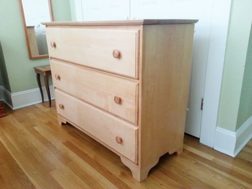 Custom Made Maple Mission Style Dresser