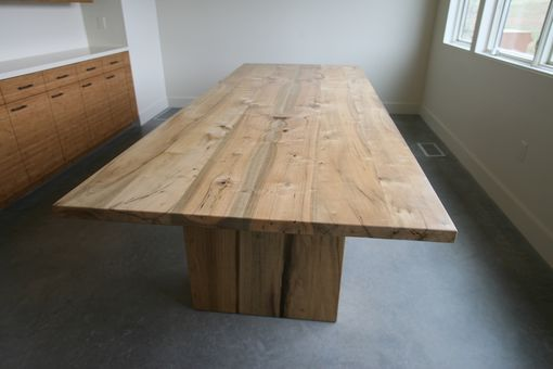 Custom Made 10' Myrtle Hardwood Conference Table