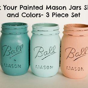 Decor Kitchen Ideas Mason Jar Kitchen Mason Kitchen Choose Painted Distressed Jars