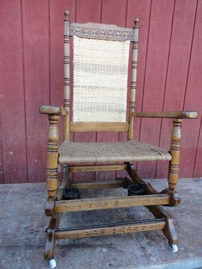 Custom Made Platform Rocker Restoration