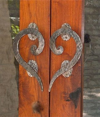 Custom Made Custom Iron Door Handle