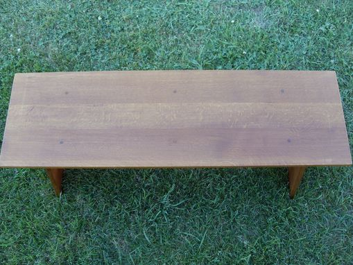 Custom Made Mission Style Bench