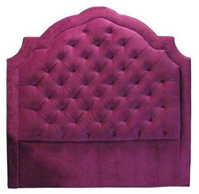 Custom Made Tufted Velvet Headboard