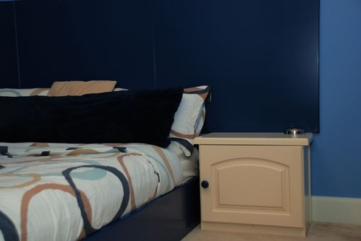 Custom Made Bedroom Set In Blue