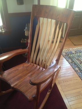 Custom Made Hal Taylor Rocking Chair