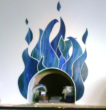 Custom Made Mosaic Wall Design