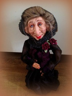 Custom Made Ooak - Kind Witch - Fantasy Figurine - Grand Dahlia, Dma, Ogld, Triyaandnora Sculpts
