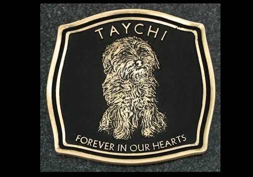 Custom Made Pet Memorial Plaques