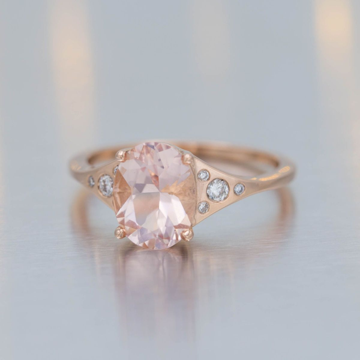 morganite  Morganite Engagement Rings