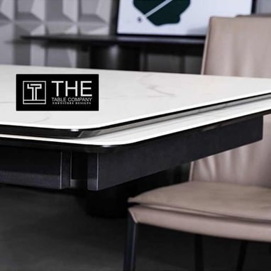 Custom Made Automated Marble Dining Table
