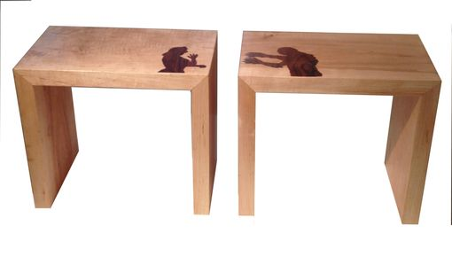 Custom Made Creature From The Black Lagoon Side Tables