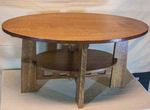 Custom Made Arts And Crafts Coffee Table