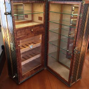 Louis Vuitton Humidor And Bar By Geoff Gahm