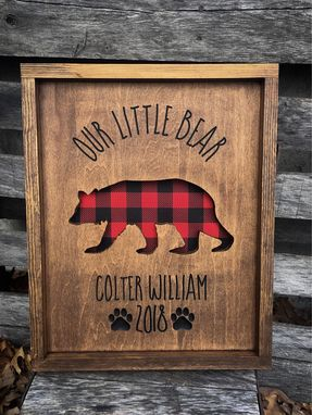 Custom Made Nursery Sign