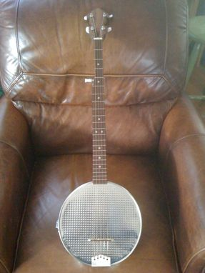 Custom Made Cake Pan Banjo