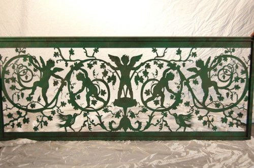 Custom Made Italian Fence Panels On Sale Patio Discount Italian Home Garden Iron Metal Gate