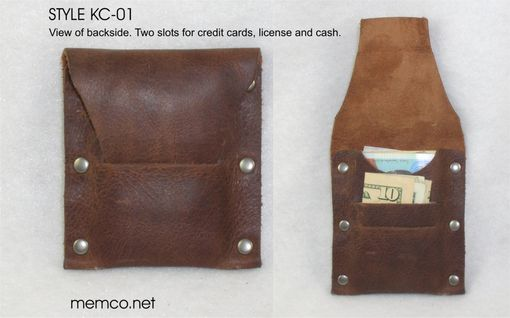 Custom Made Handmade Leather Wallet - Free Monogramming