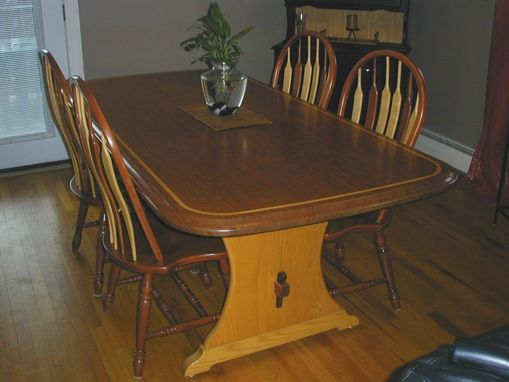 Custom Made Bubinga Dining Room Table
