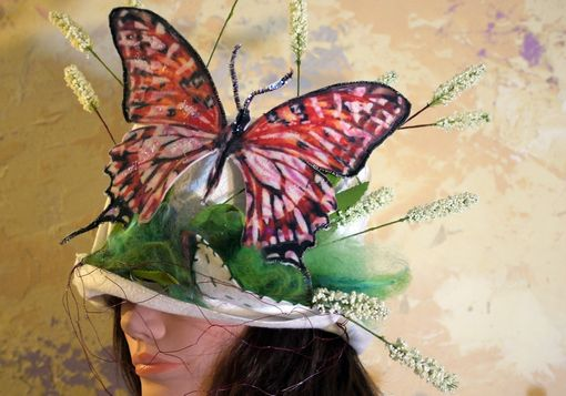 Custom Made Custom Butterfly Hat