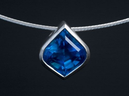 Custom Made Topaz Pendant