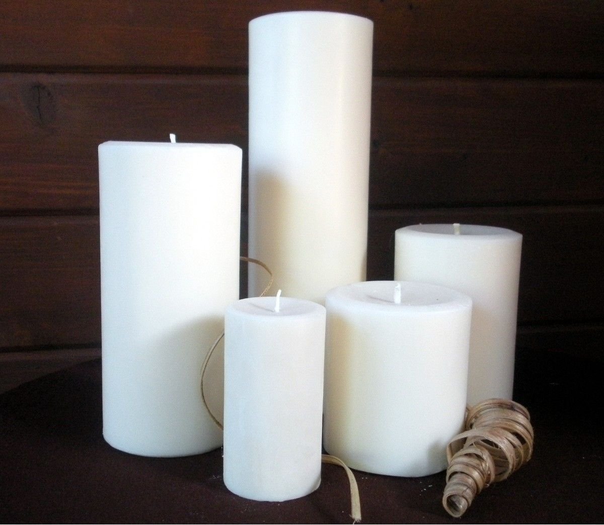Home Decor Unique Jewelry Hand Crafted Gifts Candles In: Custom Made Pillar Candles By DewOnAPetal Custom Candles