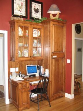 Custom Made Pantry And Desk