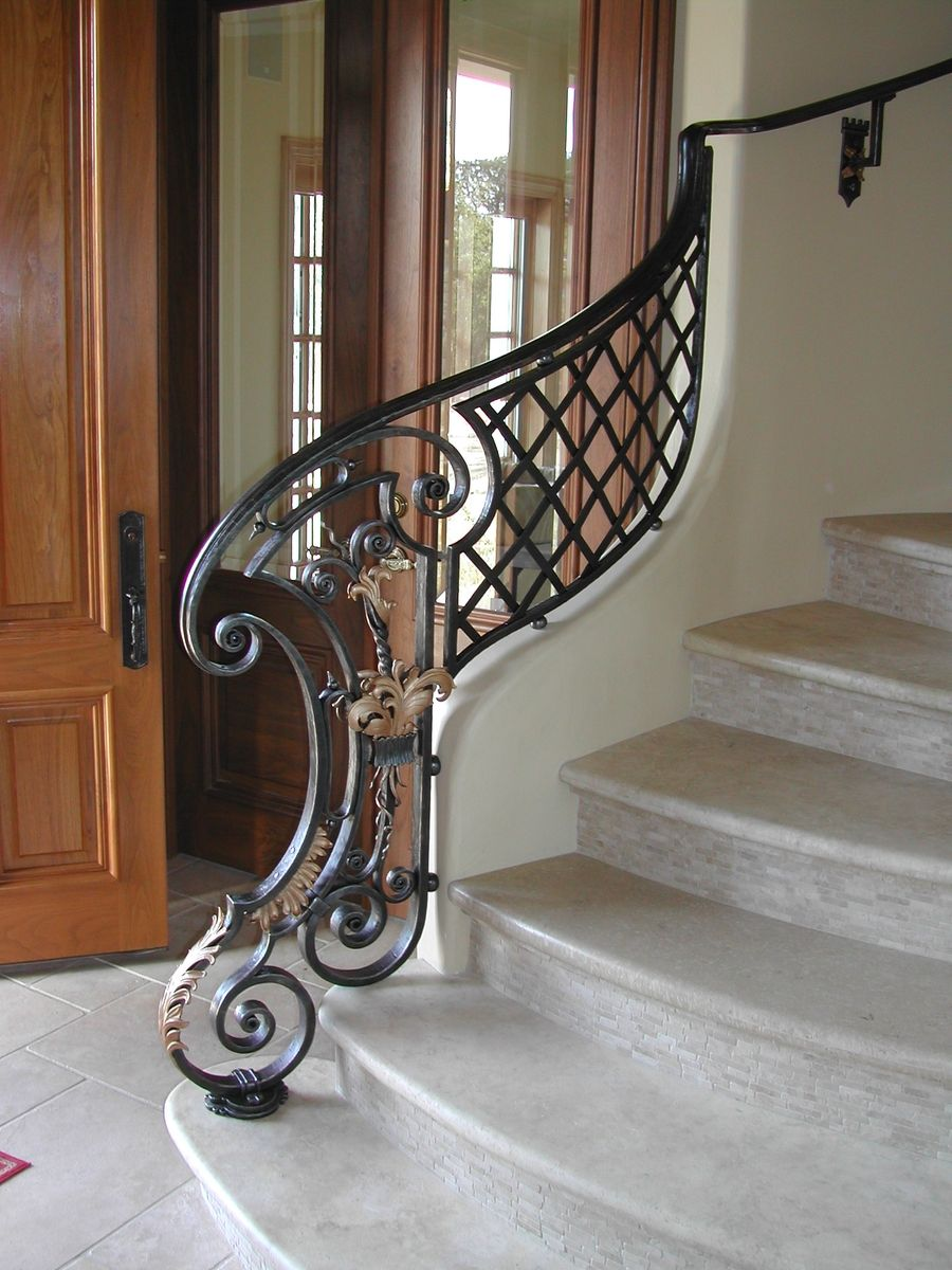 Custom Stair Railing Handmade Louis Xiv Style Stair Railing Newel By Brian Hughes