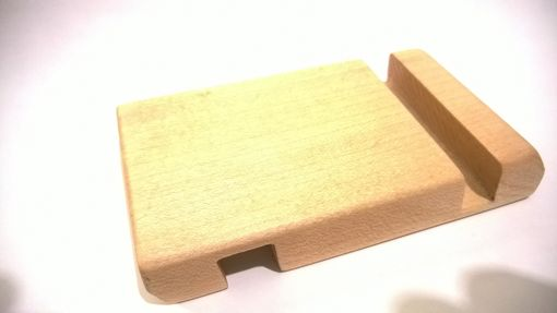 Custom Made Dual Mode Wood Smart Phone And Iphone Stand/Holder