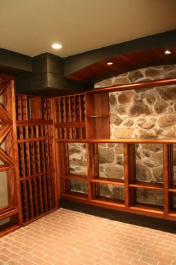 Custom Made Wine Cellar