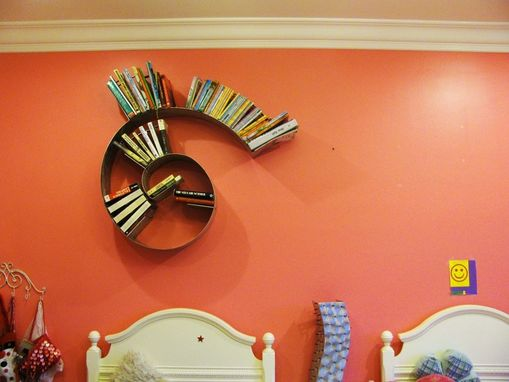 Custom Made Spiral Bookshelf