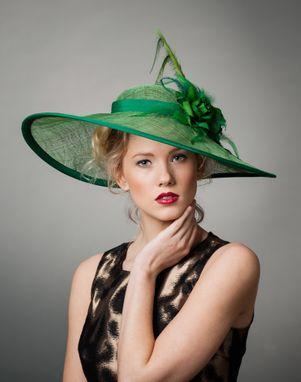 f3f3d529 Handmade Emerald Derby by Karen Morris Milliner   CustomMade.com