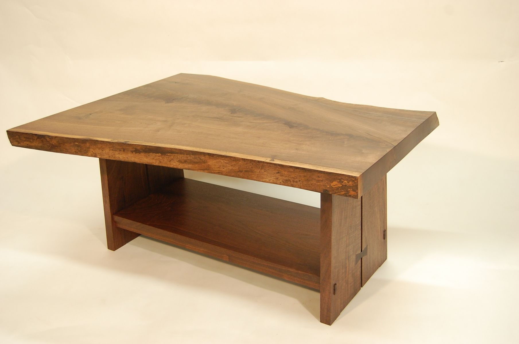 custom made black walnut coffee table by myrtle grove. Black Bedroom Furniture Sets. Home Design Ideas
