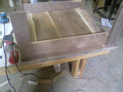 Custom Made Walnut Coffee Table