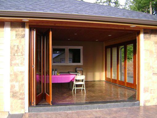 Handmade Folding Exterior Wood Window Walls By Lacey Door