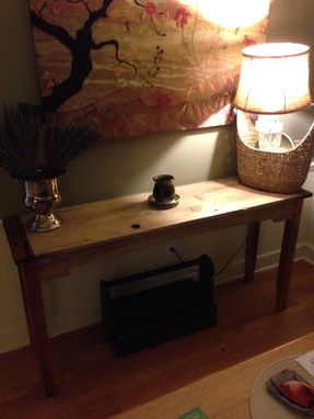 Custom Made Reclaimed Side Table / Buffet